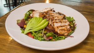 Caribbean-Chicken-Salad-Food-Grill